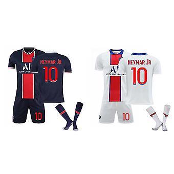 Camiseta Neymar Jr, camiseta-neymar-10, conjunto de camisetas de casa y de visitante (talla infantil)