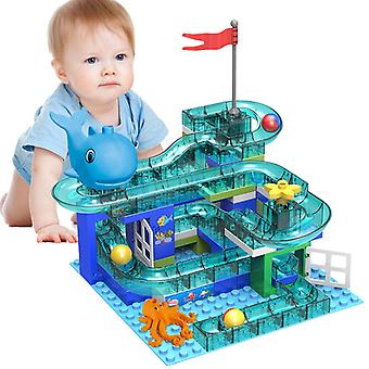 100 Maze Ball Track Blocs de construction Toy