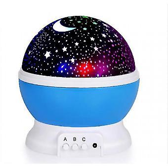 Lumière de nuit de projection de ciel étoilé, lumière de nuit jouet d'intérieur intéressante