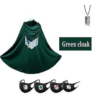 גלימה ירוקה תלבושות