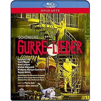 Schoenberg: Importer des USA Gurre-Lieder [Blu-ray]