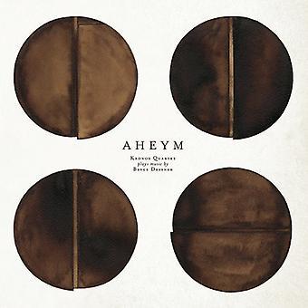 Kronos Quartet with Bryce Dessner - Aheym: Kronos Quartet Plays Music by Bryce Dessner [CD] USA import