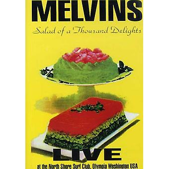 Melvins - Salad of a Thousand Delights [DVD] USA import