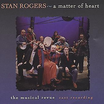 Stan Rogers - importação EUA matéria do coração [CD]