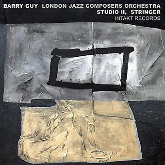 Barry Guy - London Jazz Composers Orchestra Study II Stringer [CD] USA import