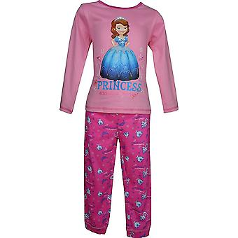 Disney Sofia The First Girls Long Sleeve Pyjamas PH2161