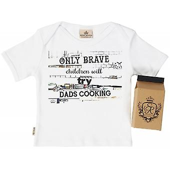 Spoilt Rotten Brave Children Babys T-Shirt 100% Organic In Milk Carton