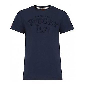 CCC england rugby grafisk livsstil t-shirt [navy]
