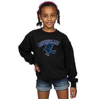 Harry Potter Girls Ravenclaw Sport Emblem Sweatshirt