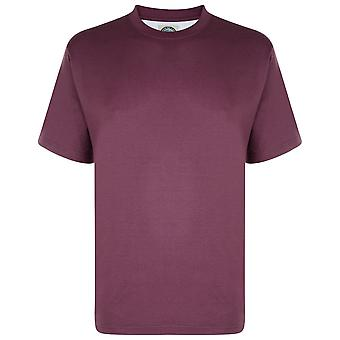 KAM Crew Neck Extra Long Length T-Shirt