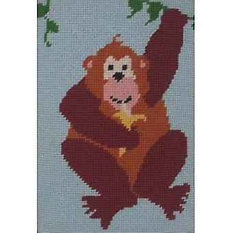 Ape Needlepoint Kit