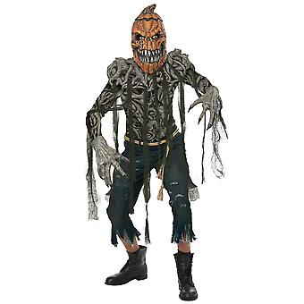 Pumpkin Creature Monster Holloween Creepy Spooky Horror Mens Costume