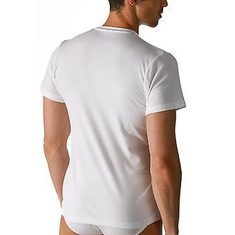 Mey 2803 Men's Noblesse White Pima Cotton Short Sleeve Top
