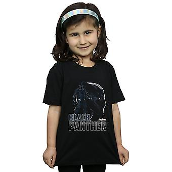 Marvel Girls Avengers Infinity War Black Panther Character T-Shirt