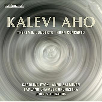 Aho/Salminen/Eyck/Lapland Chamber Orch - Theremin & Horn Cons [SACD] USA import