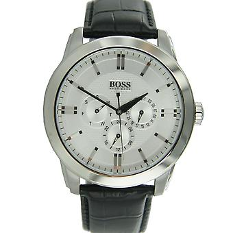 Hugo Boss ブラック メンズ革 1512892 腕時計