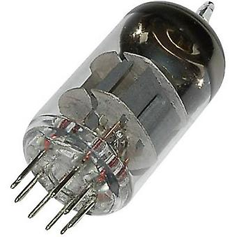 ECC 88 = 6 DJ 8 = 6922 Vacuum tube Double triode 90 V 15 mA Number of pins: 9 Base: Noval Content 1 pc(s)