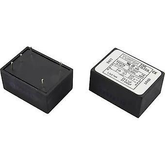 Yunpen YF01T6 EMI filter 250 V AC 1 A 3.7 mH (L x W x H) 41 x 30 x 20.3 mm 1 pc(s)
