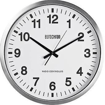 Eurochron EFWU 9000 Radio Wall clock 507 mm x 63 mm Silver