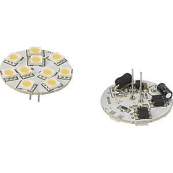Renkforce 792441 LED (monochrome) EEC A (A++ - E) G4 Pen 1.5 W = 10 W Warm white (Ø x L) 30 mm x 30 mm 1 pc(s)