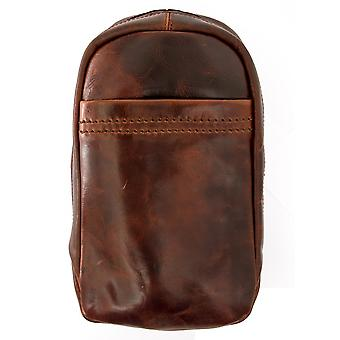 Ashwood Highbury Tanned Leather Sling Bag