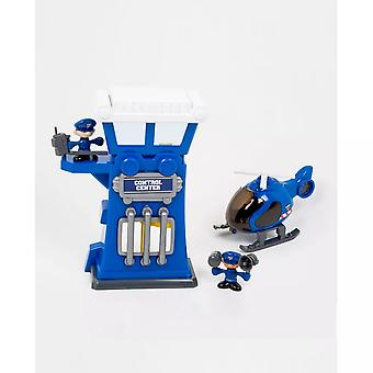 My Little Kids Police Station Control Tower Playset