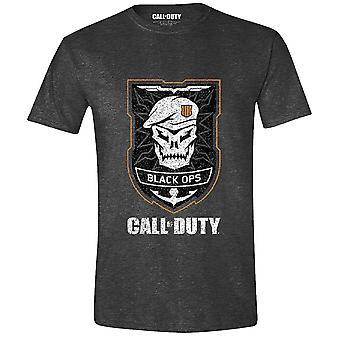 Call af told: Black ops IIII T-Shirt kraniet logo
