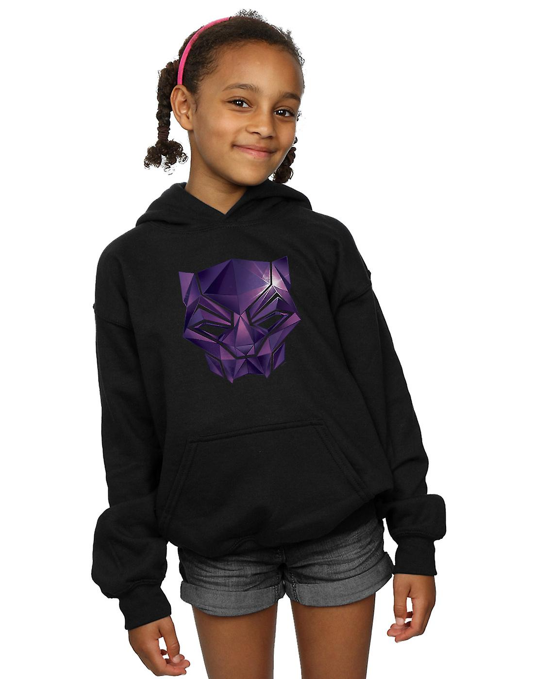 Marvel Girls Avengers Infinity War Black Panther Geometric Hoodie