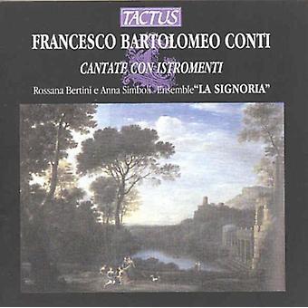 Conti / Bertini - Cantatas [CD] USA import