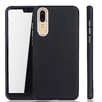 Huawei P20 - Mobile Shell voor Huawei P20 - mobiele geval in zwart