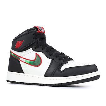 Air Jordan 1 Retro hög Og (Gs) 'Sport illustrerad' - 575441-015-skor