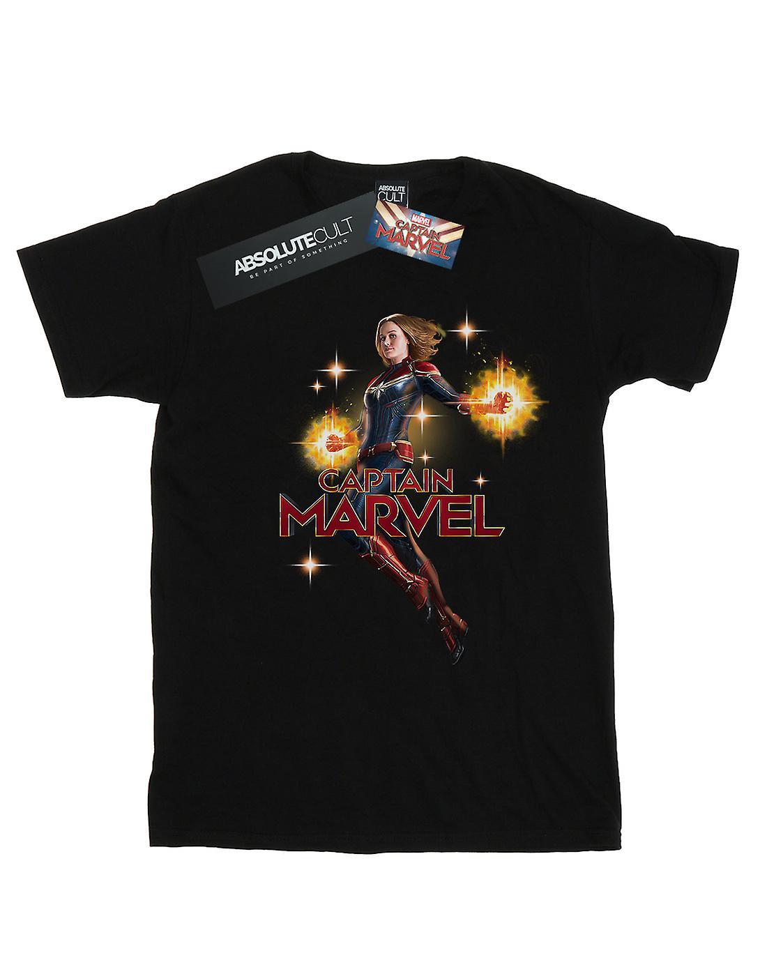 Marvel Girls Captain Marvel Carol Danvers T-Shirt