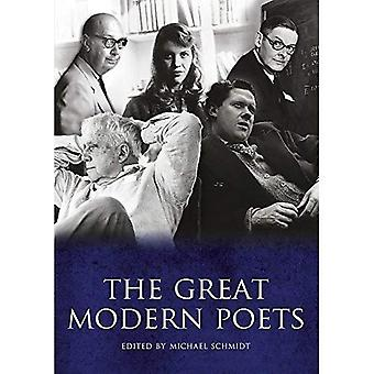 Grote moderne dichters: Een bloemlezing van de beste dichters en poëzie sinds 1900