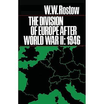 Delingen av Europa etter andre VERDENSKRIG: 1946 (ideer og Action-serien)
