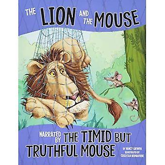 Il Leone e il topo, narrato dal Mouse timido ma veritiero (altro lato della favola)