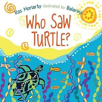 Wie zag schildpad?