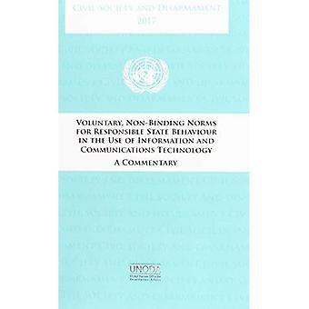 La société civile et le désarmement 2017: volontaires normes non contraignantes pour le comportement de l'État responsable de l'utilisation des technologies de l'information et des communications, un commentaire
