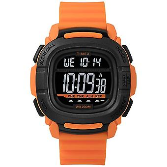 Timex | Spinta Shock Orange e Nero Digital | TW5M26500SU orologio