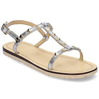 Kjærlighet Moschino Golden Heart JA16411G07JG0902 universelle sommer kvinner sko