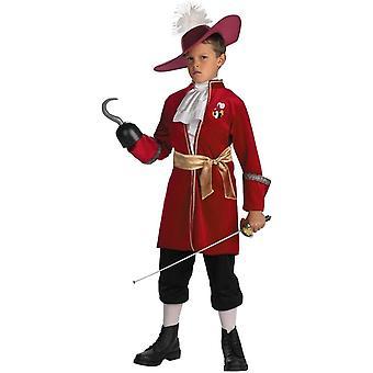 Kapitan hak dziecko kostium