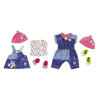 Baby Born Deluxe Jeans Collection For Doll - Kids Toy