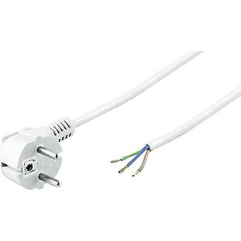 Basetech 611994 Current Cable White 1.50 m