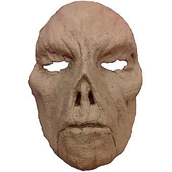 Épouvantail mousse Latex visage pour Halloween