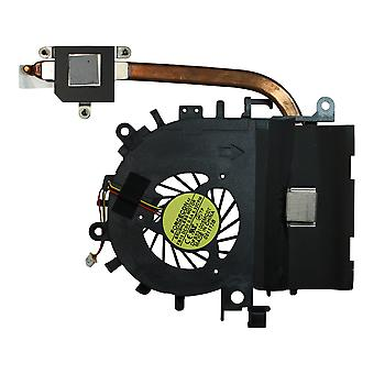 Acer Aspire 4552-P314G32MNKK Independent Graphics Version Replacement Laptop Fan With Heatsink For AMD Processors