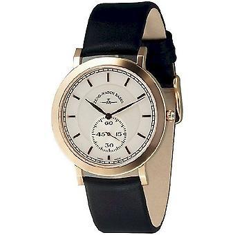 Zeno-watch mens watch flatline flat 2 quartz 6703Q-Pgr-f3