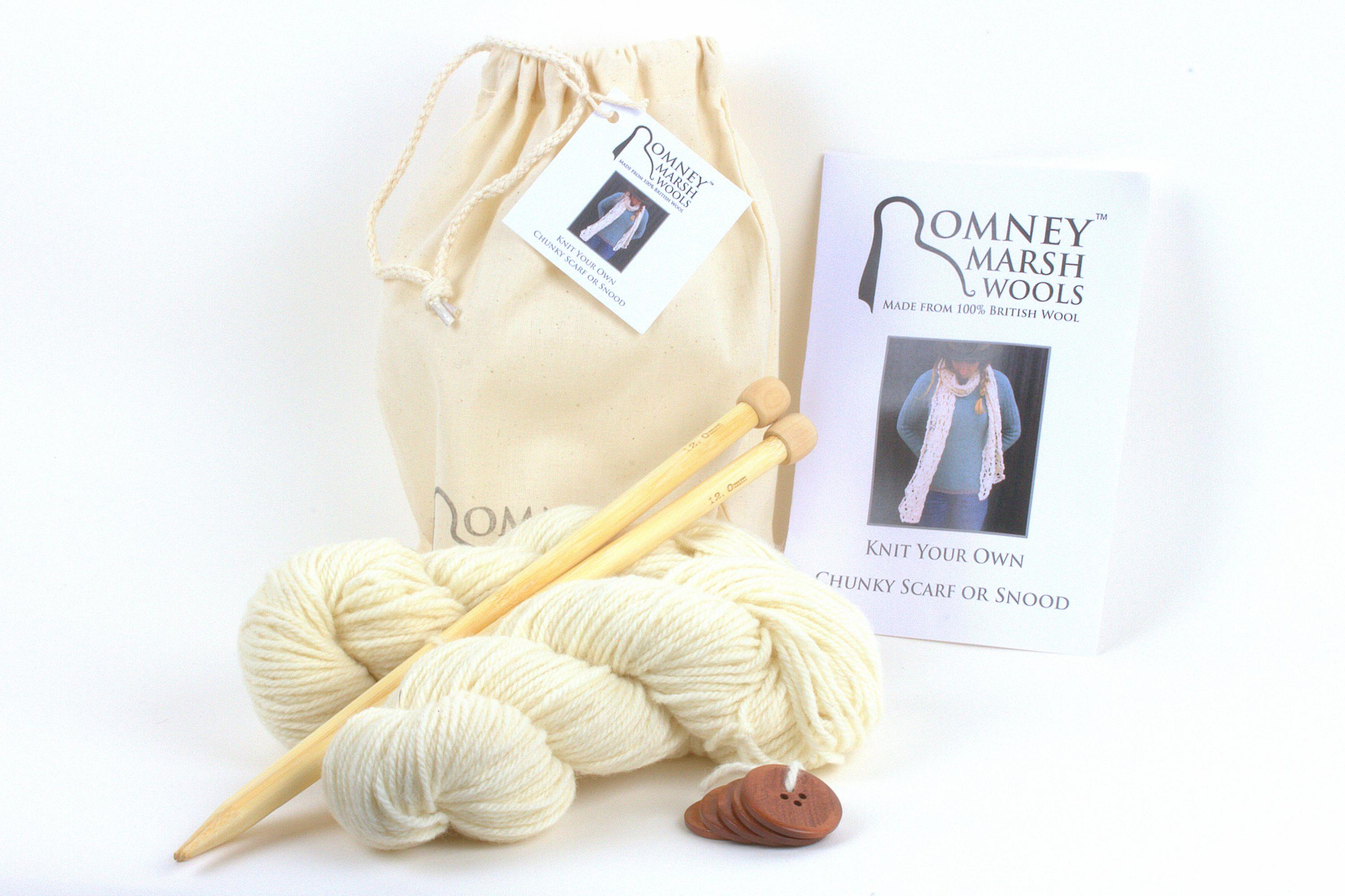 Scarf or Snood Knit Kit