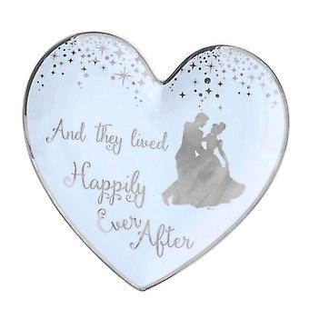 Disney Cinderella prato anel de casamento