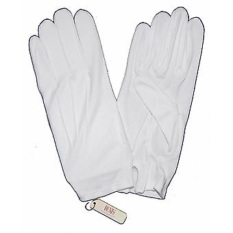 DENTS Mens White Masonic Glove