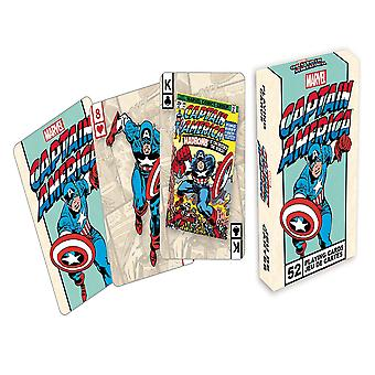 Marvel Captain America Retro Playing Cards