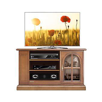 Klassischer TV-Türschrank mit Schaufenster